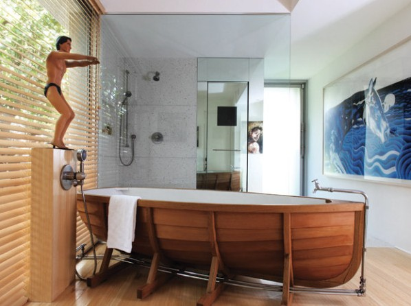 Csónakban szárazon, csónakban vizesen - Lakinta csempe és fürdőszoba