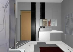 Fürdőszoba számítógépes látványterv